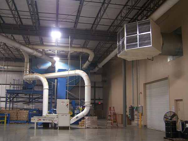 industrial ventilation for midwest manufacturers